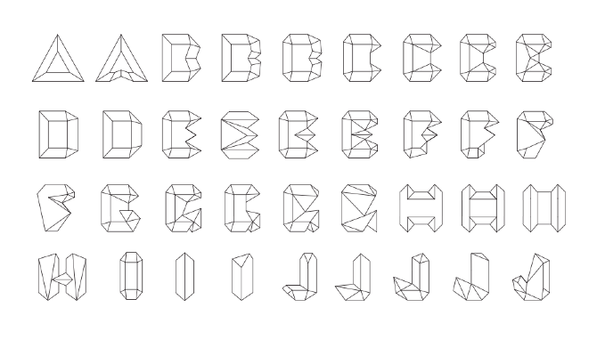 Graphic Design History Alphabets
