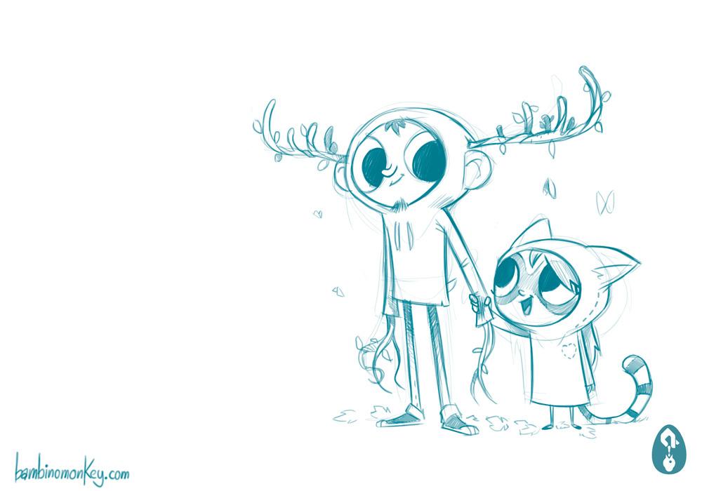 Cartoon Character Design Service : Character design portfolio bambinomonkey