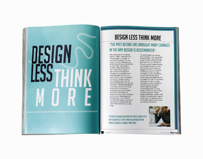 design less think more ebony ellis