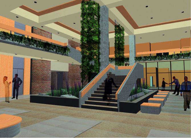 Interior Building Design